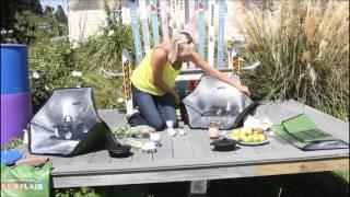 Solar Cooking with Sunflair Solar Ovens at the Nelson Environment Centre