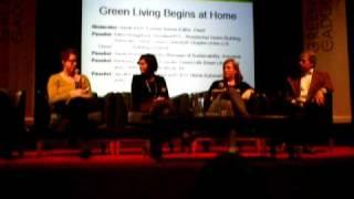 "Greener Gadgets Conference 2010 ""Green Living Begins at Home"" Discussion Panel"