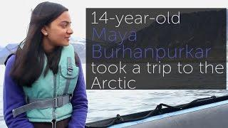 Teenage Scientist Captures Arctic Ice Melt on Film