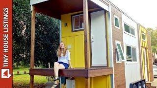 """Emily's Amazing """"Little Sunshine"""" Tiny House"""