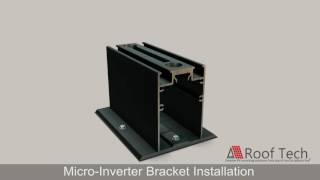 micro inverter bracket installation
