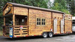 Energy Efficient Tiny Home w/ Green Building Design & Construction | Small Home Design Ideas