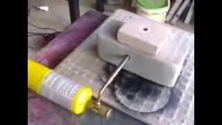 homemade small melting furnace