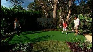 DIY: putting green