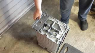 BMW E31 840CI EV Conversion 47 : Battery Mounts