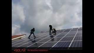 +SOLAR: Rooftop Solar PV System Installation Process