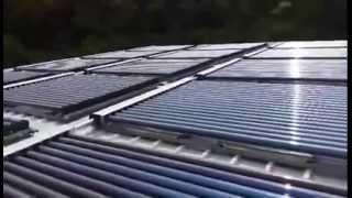 Solar Hybrid heat pump by Siamgreenengineer