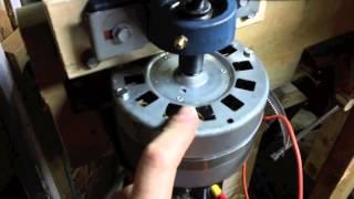 Add a Motor to the Vertical Axis Wind Turbine Project
