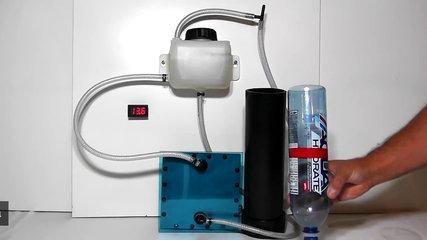 Hydrogen HHO Generator flow test