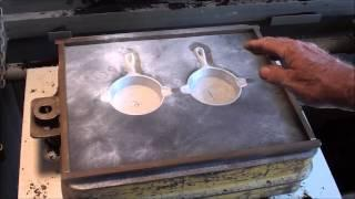 CASTING A FOUNDRY MATCHPLATE PATTERN part 2 of 4 tubalcain
