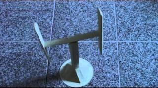 Darrieus Paper Model