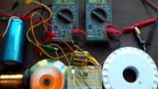 Joule Thief Pulse motor + 25 Leds