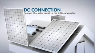 i-Energy Smart Home Solution - i-Micro Inverter Installation Video