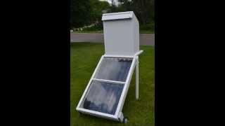 Experiments In Solar Food Drying