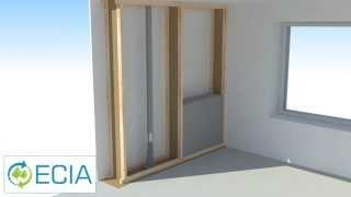 ECIA VIDEO 3: Passive/zero energy house wall construction with CFI
