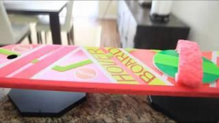 My real hovering Hoverboard display