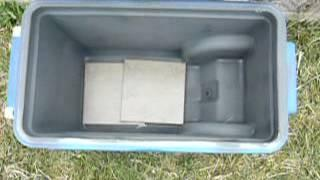 DYI Solar oven on the cheap