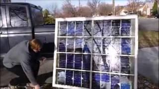 DIY Solar Panel Assembly