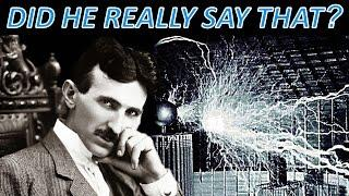 Nikola Tesla Greatest Secret EXPOSED 2017 The One Thing He Said That NOBODY Mentions