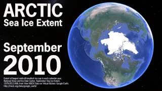 See Arctic Sea Ice Melt Before Your Eyes