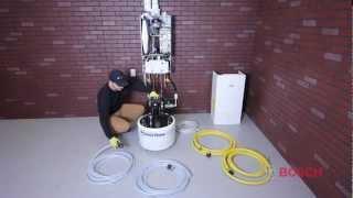 Bosch Greenstar Boiler Installation Video