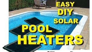 How to Make a Easy DIY Solar Pool Heater