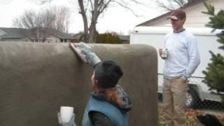 A Straw Bale Wall