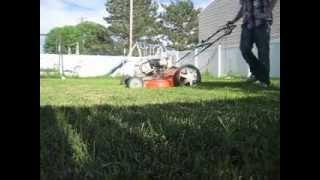 "Lawn Mower Running On Gasoline Vapor ""In Depth"""