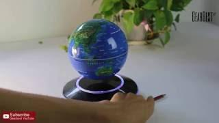 Magnetic Levitation Floating Globe World Map - Gearbest.com