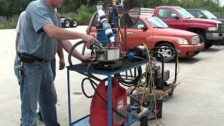Gasoline Vapor Carburetor #5 Ultrasonic and Compressed Air Circular Bubbler 9-4-2011