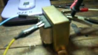 HHO -  step up transformer
