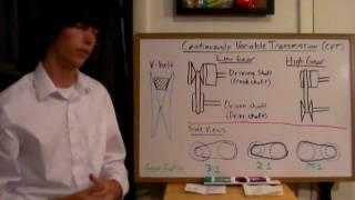 Continuously Variable Transmission - Explained