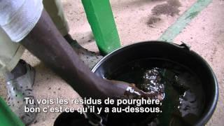 Mali video 03 (FR) - L'huile de Jatropha