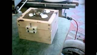 DIY homemade electric foundry furnace aluminum casting by tekca.wmv