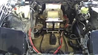 BMW E31 840CI EV Conversion 19 : Front Mount