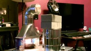 "Awesome Air Heater!! - The ""Stack Boot"" Air Heater! - Easy DIY (350F+) Mini Off-Grid Furnace!"