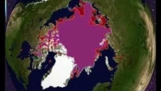 Arctic Ice Melt July 30 - August 11 2008