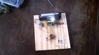 Joule Thief - No Transistor - Simple Oscillator