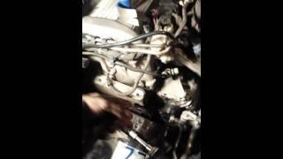 diy 03 saab 9-3 alternator removal
