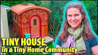 Gorgeous Vardo-style Tiny House in Tiny Home Community