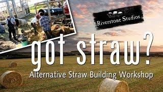Straw Light Clay - Alternative to Straw Bale Construction