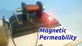 Magnetic Permeability Experiment