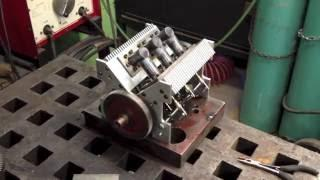 V6 Stirling Engine