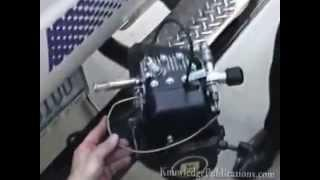 Aluminum Fuel Cell Demonstration Larsen Radax engine demo 1