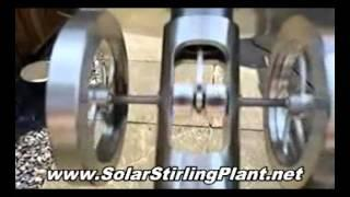 STOP Free Energy Suppression, NO MORE! Solar Stirling Free Power for Home