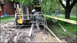 Geothermal Install - Waterloo house - Part 1