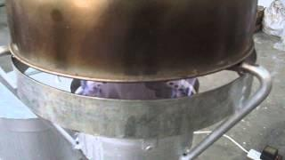 Single-Burner  Continuous-Type Rice Husk Gas Stove Model 2