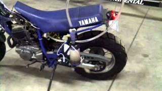 200cc enduro ultrasonic gas vapor running, no gas tank