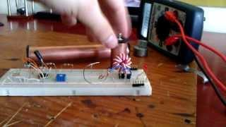 3. Crystal Cell magnesium core test designs with joule thief circuit