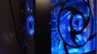 Cold Cathode Lighting and Fan PC Case Mod Tutorial by Xoxide